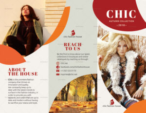 brochure design for shop