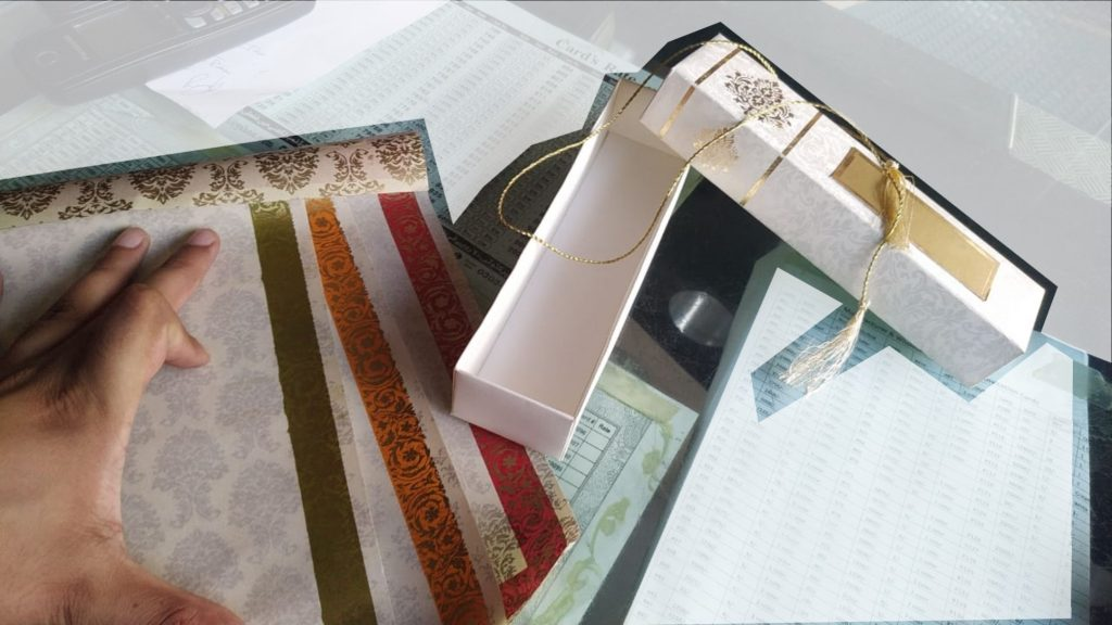 Scroll Wedding Cards Rawalpindi