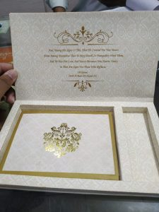Wedding Cards With Dry Frute Box (2)